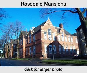 Rosedale Mansions formally the Boulevard Higher Grade School