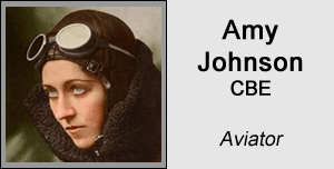 Amy Johnson - Aviator